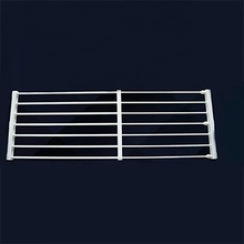 scalable Stainless steel Kitchen Sink Shelf Rack Vegetables and <strong>Fruits</strong> Water Drain 76-135cm