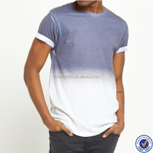 summer new fashion faded navy print mens custom t shirt online shopping