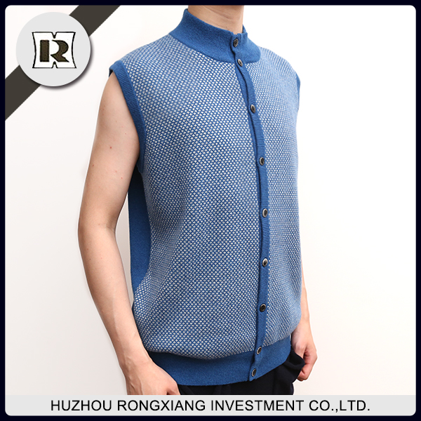 New sweater design wholesale new design men's fashion waistcoat