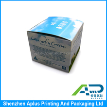 Full color printing eye cream packaging paper box with custom logo