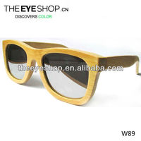 Bamboo custom bamboo sunglasses W89