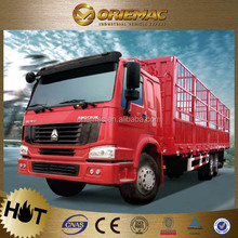 howo 4x2 6x4 8x4 cargo truck / cargo box for truck