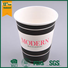 disposable paper cup for hot chocolate