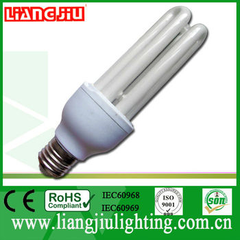 3U 15W cfl energy saver with ISO9001:2008, SONCAP, IEC60968, 60969, CE, ROHS