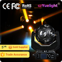 Yuelight 12pcs*12w RGBW 4in1 LED Beam football moving head light