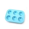 Candy Molds Ice Cream Tools,round lattice,food safe,soft,hot summer cool frozen silicone ice cube trays