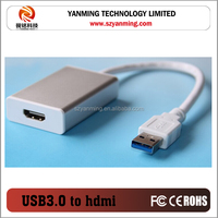 usb 3.0 to hdmi mhl cable with aluminum case