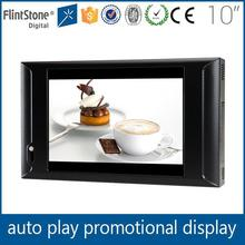 2014 new advertising products/flintstone 10.1 touch screen Brand digital advertising player,lcd digital touch screen