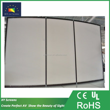 80 inch 4:3 home made 1080p projector screens/sound transparent projection screen for home theater