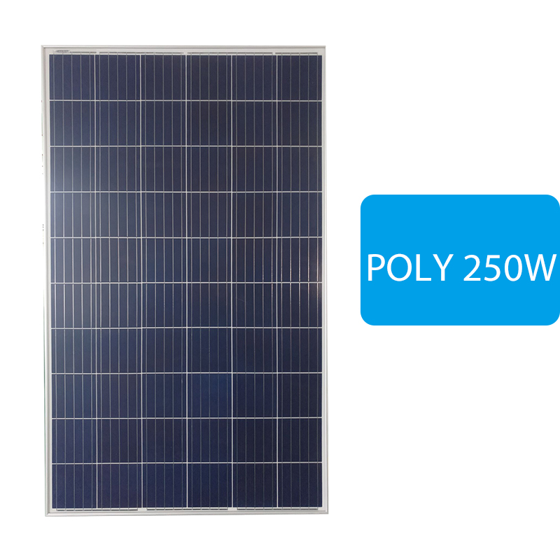 Cheap A Grade CE Approved poly solar panel 250w for home solar system
