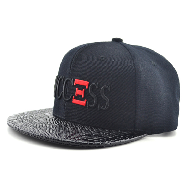 Wholesale Leather Snapback Hats Custom Snapback Manufacturer