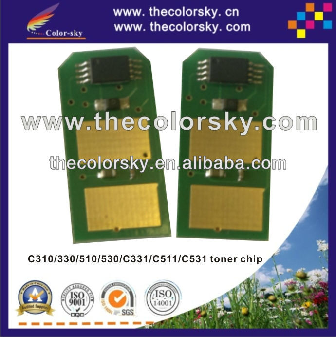 (TY-OC330) compatible smart toner <strong>chip</strong> for OKI C310 C330 C510 C530 C331 C511 C531 C 310 330 510 530 331 511 531 2k/3k/3.5k/5k