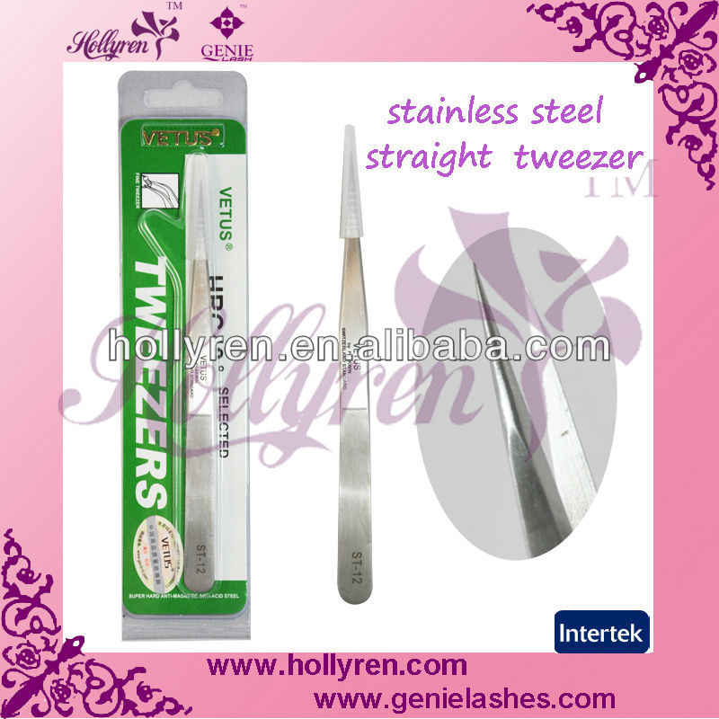 Vetus tweezer,extra fine point tweezers / eyelash extensions, esd tweezer
