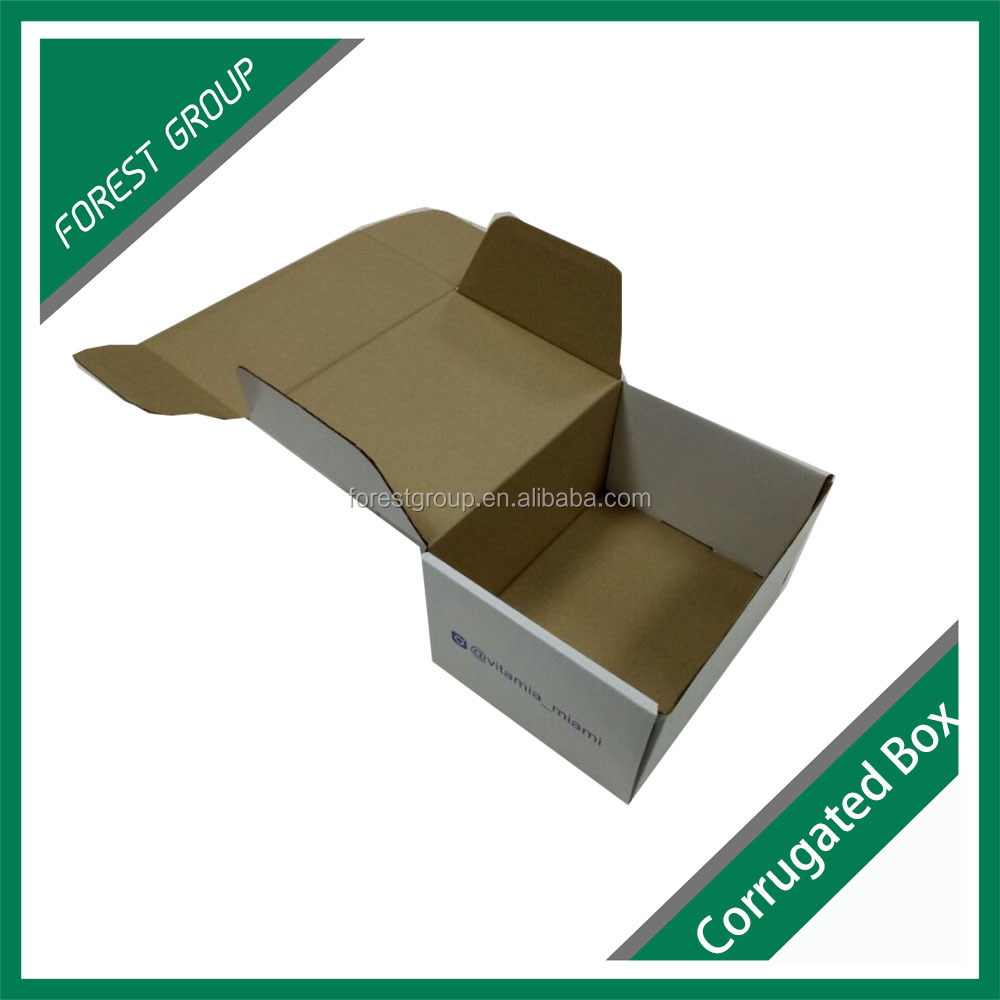 Colored moving boxes corrugated kraft paperboard with LOGO printing