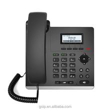 OEM Poe Wifi Office Support 2 Sip Lines VoIP IP Phone