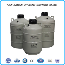 Portable liquid nitrogen biological container/dewar liquid nitrogen