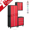 Luoyang metal furniture garage tool verticle door steel cabinet with shelves