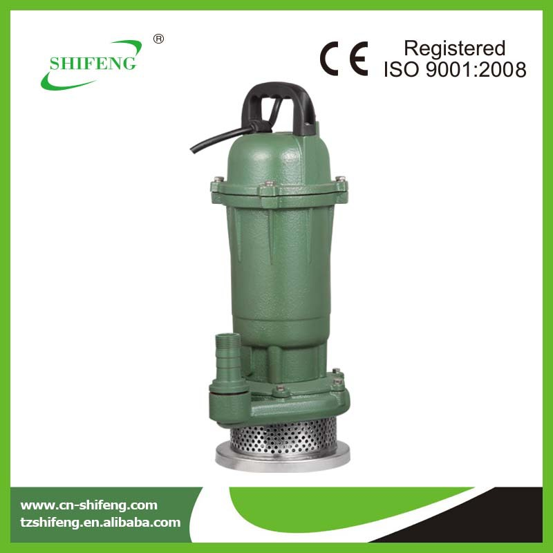 pond pump accessories single phase submersible pumps/QDX series