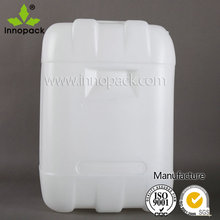 25L blue/ white plastic jerry can for water /edible oil/olive oil HDPE