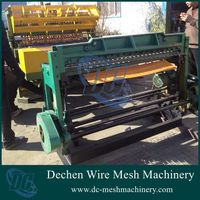 Dechen 2016 new CNC automatic pigeon cages used wire mesh welding machine (2-3.2mm)