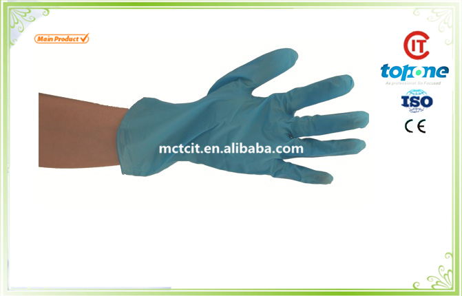 non sterile latex examination gloves/latex gloves malaysia manufacturer/gloves latex with High Quality