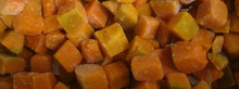 New crop IQF frozen pumpkin