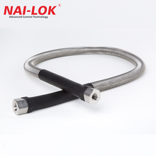 stainless steel braided flexible ptfe hose with gas cabinet solutions