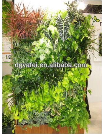 new design small artifical plant/shrub/grass wall for indoor/outdoor decoration