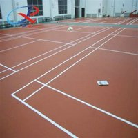 pvc indoor sports court surface