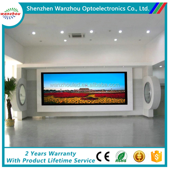 High Resolution SMD Full Color P4 Indoor LED Display for Advertising