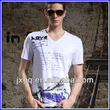 2012 latest fashion men casual shirts 100% cotton men fancy t shirt