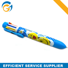 6 In 1Promotion Plastic Cartoon Stylus Ballpen