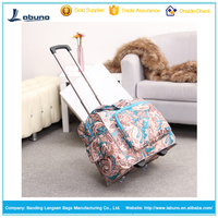 New style trolley travel time bag trolley laptop bag two wheels