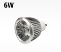 diameter 54mm 6w MR16 GU10 led spot dimmable COB ight with 38/60 degree lens