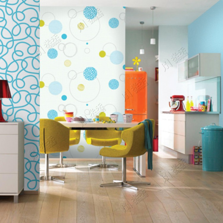 Fashion 2017 new style home decor pvc waterproof designer wallpaper