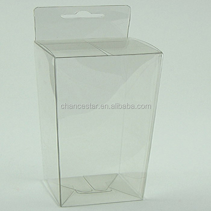 For packaging custom clear pp pet pvc hanger box