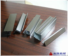 Bronze powder coating Mullion Casement 28 Window frame