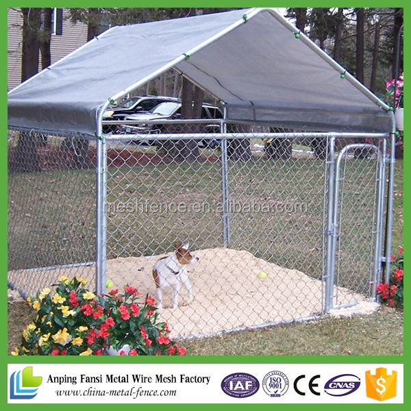 China manufacturer hot sale folding large dog house pet cage kennel
