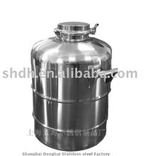 Stainless steel ethanol barrel
