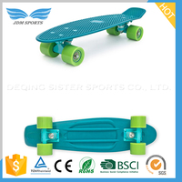 Quality-Assured Fish Board Cruiser skateboard veneer