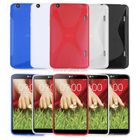 X Line TPU Soft Gel Skin Case Cover For LG G PAD 8.3 V500 Tablet