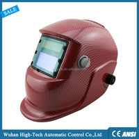 Welding Face Protection High Quality Carbon Fiber Auto Darkening Welding Helmet CE EN379 ANSI Z87.1