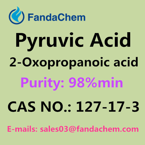 cas no.: 127-17-3 ; Pyruvic Acid ; 2-Oxopropanoic acid