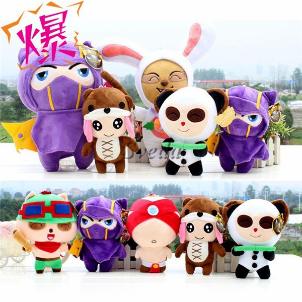 Hot Game League of Legends Plush toy dolls PP cotton doll wholesale LOL League of Legends toys