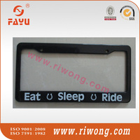 ABS Plastic License Plate Frames