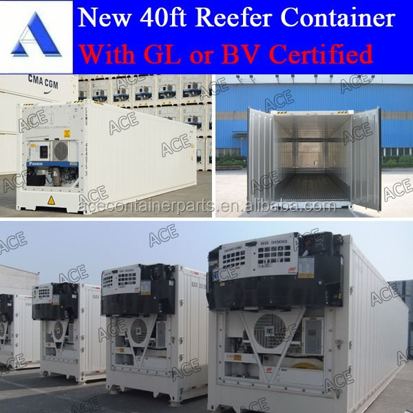 10ft 20ft 40ft refrigerated containers for sales