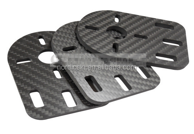 Customized carbon fiber parts sheets for car, bicycle, machine