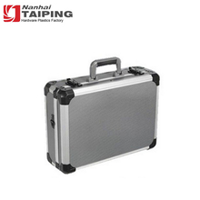 High Quality Silver Aluminum Tool Box Metal Case Hard Carrying Case