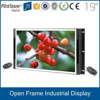 FlintStone 19 inch indoor metal case frameless tft lcd monitor / VGA port