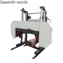 Hot sales large wood sizer/horizontal band saw mill for wood